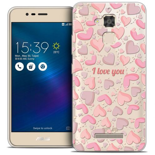 "Coque Crystal Gel Asus Zenfone 3 Max ZC520TL (5.2"") Extra Fine Love - I Love You"