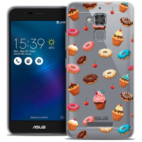 "Coque Crystal Gel Asus Zenfone 3 Max ZC520TL (5.2"") Extra Fine Foodie - Donuts"