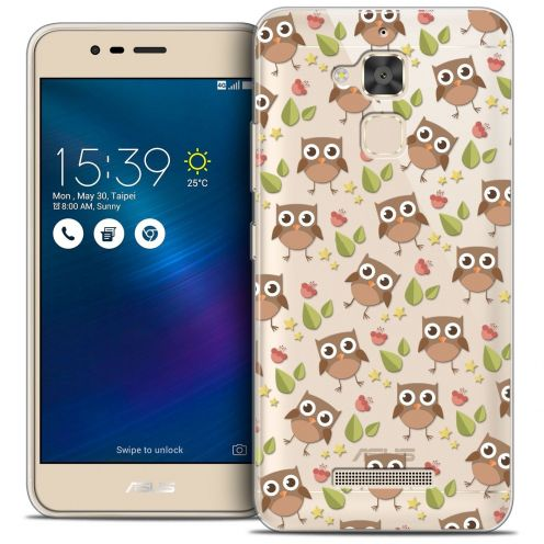"Coque Crystal Gel Asus Zenfone 3 Max ZC520TL (5.2"") Extra Fine Summer - Hibou"