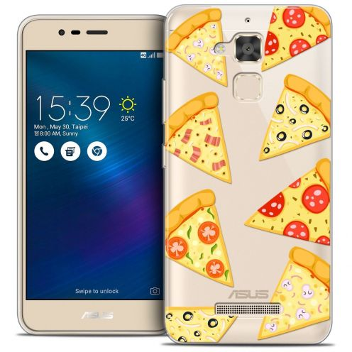 "Coque Crystal Gel Asus Zenfone 3 Max ZC520TL (5.2"") Extra Fine Foodie - Pizza"