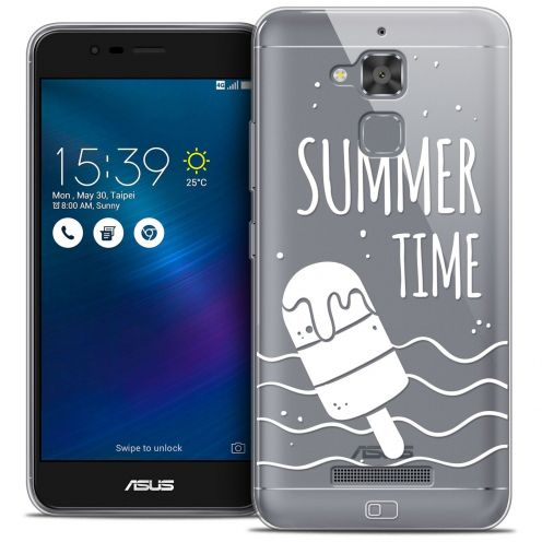 "Coque Crystal Gel Asus Zenfone 3 Max ZC520TL (5.2"") Extra Fine Summer - Summer Time"